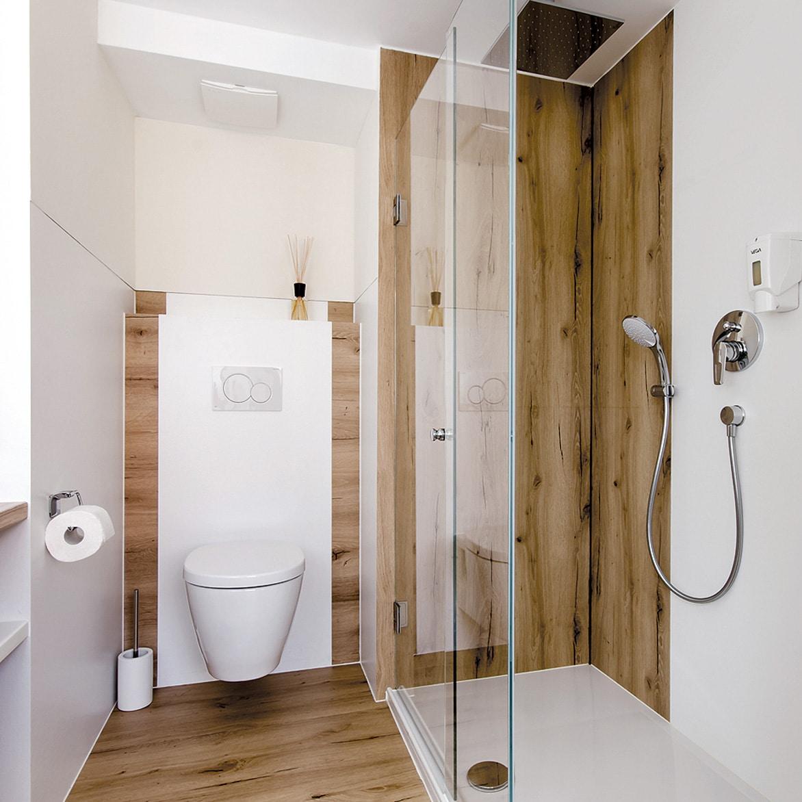 WC Renovierung mit Dusche