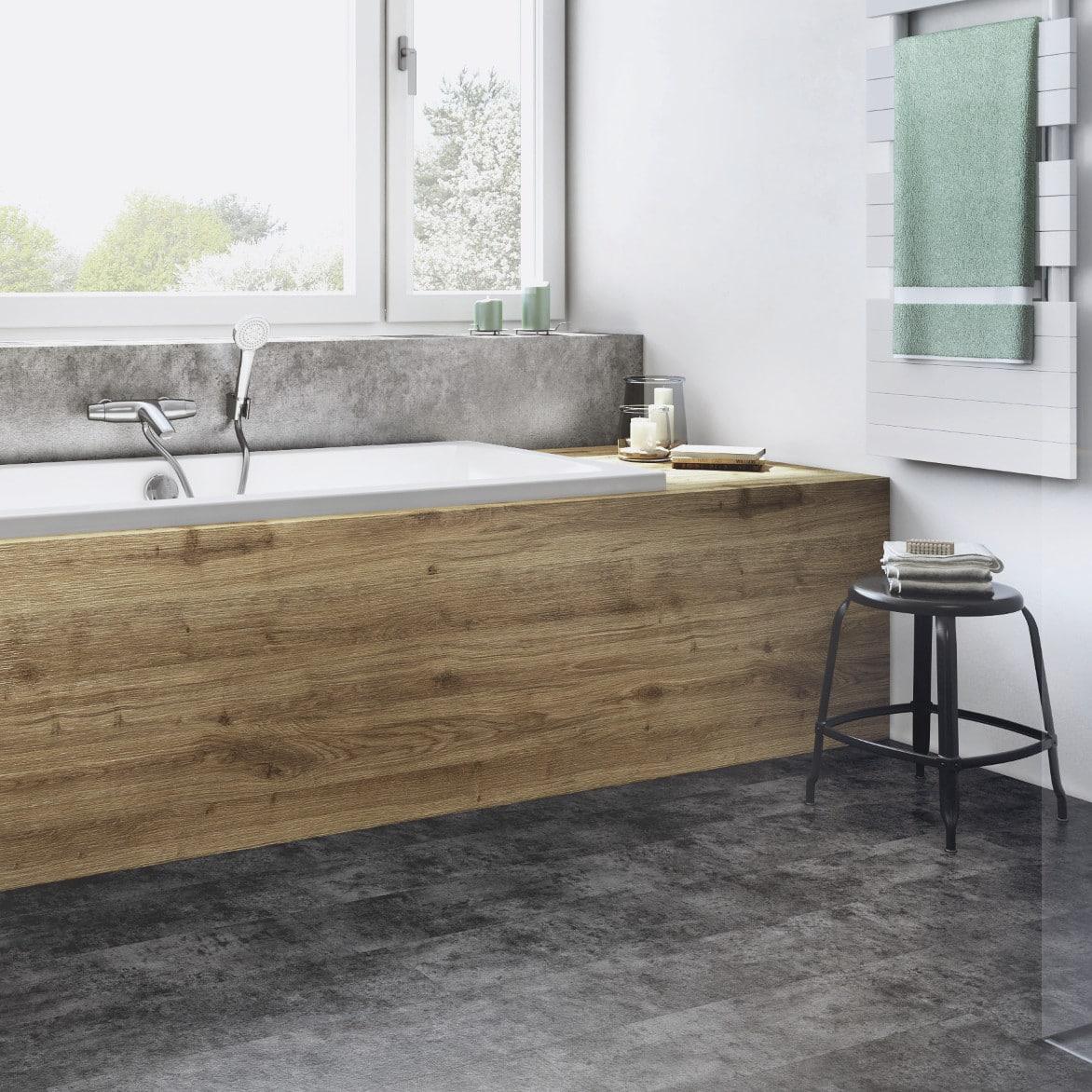 Badrenovierung mit Badewanne