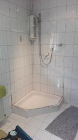 vorher Duschtasse
