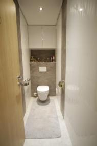 nachher WC mit Verbau