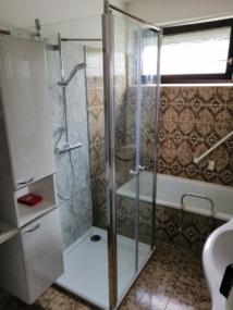 nachher Dusche mit Doppeltür
